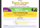 Thumbnail Traffic Lottery Script  WIN traffic to promote your website