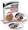 Thumbnail High End Affiliate Marketing Secrets