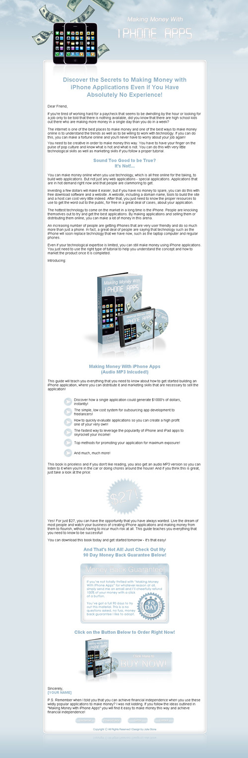 Product picture Iphone ULTIMATE - Money with Apps + more .... 4 files