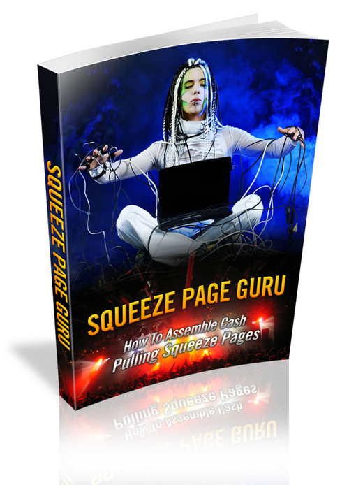 Product picture Squeeze Page Guru