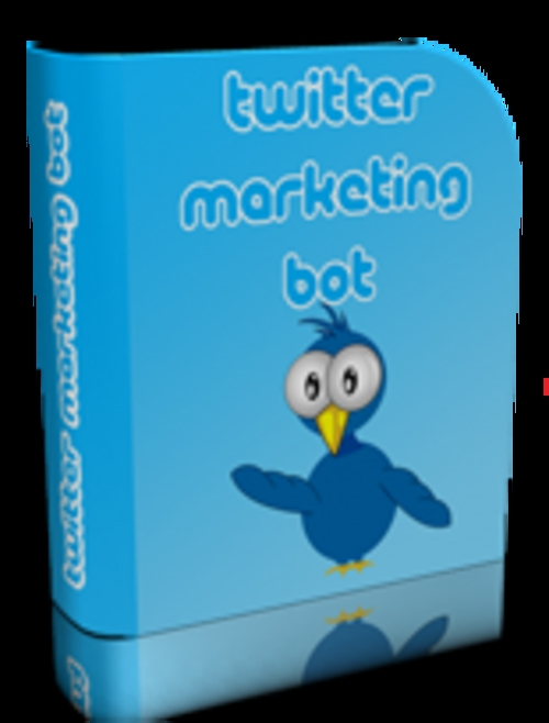 Product picture Twitter Marketing Bot - your site exploded on Twitter