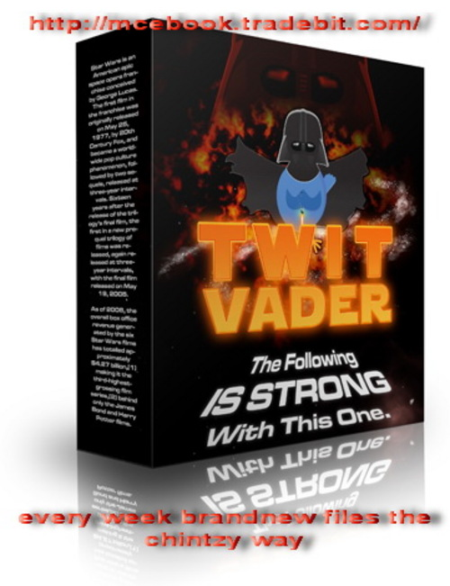 Product picture TWIT VADER Completely Automates Following On Twitter