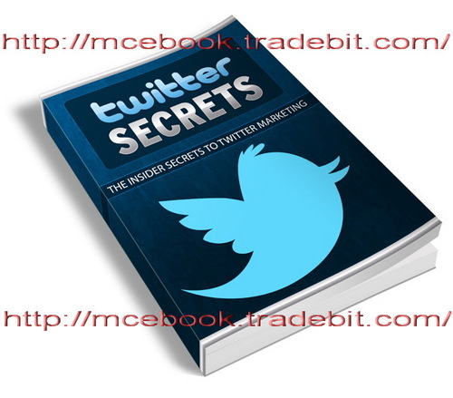 Product picture TWITTER SECRETS  Complete Guide To Twitter Traffic!
