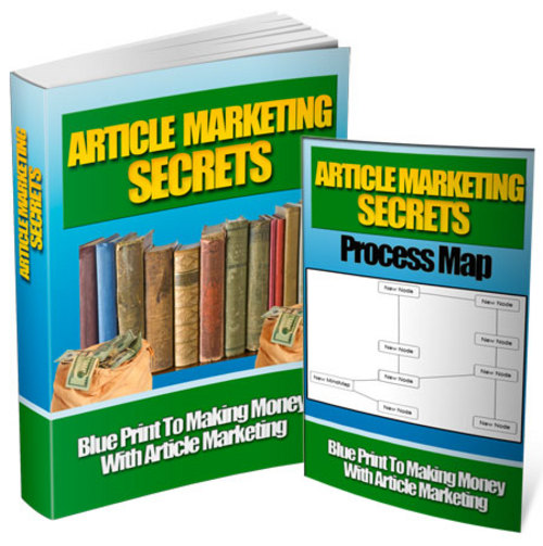 Product picture Article Marketing Secrets AND AS A BONUS  Income commander