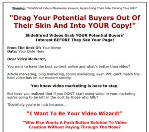 Product picture 11 Slide Shred Niche Videos ROYALTY FREE