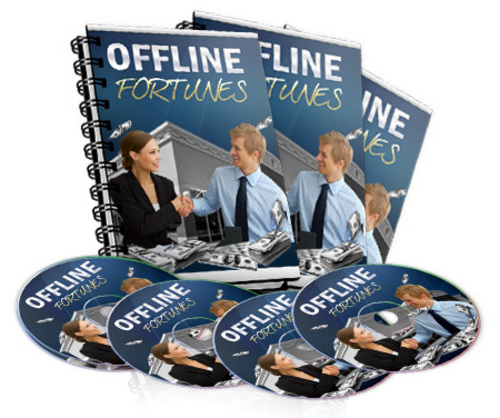 Product picture Offline Fortunes Video Series Step By Step System Reveals