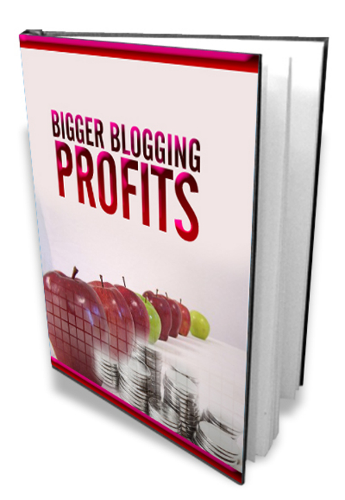Product picture Bigger Blogging Profits
