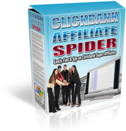 Product picture ClickBank Affiliate Spider