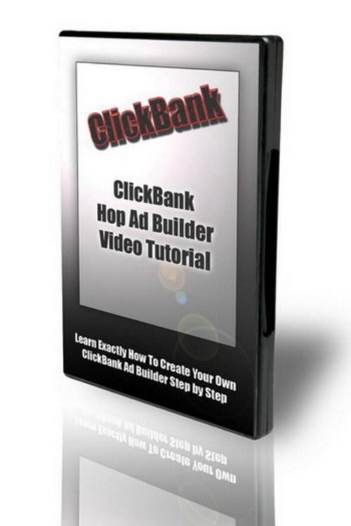 Product picture ClickBank Hop Ad Builder Tutorials