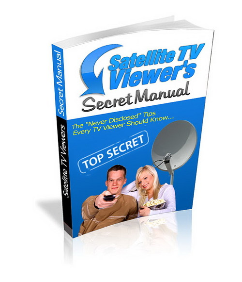 Product picture Secret TV Viewers Secret Manual  Master Resale Rights
