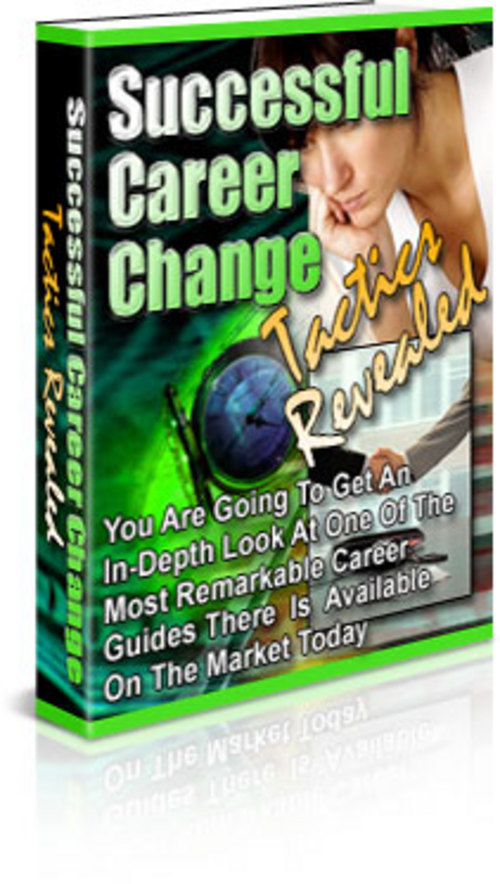 Product picture Successful Career Change Tactics Reveleased
