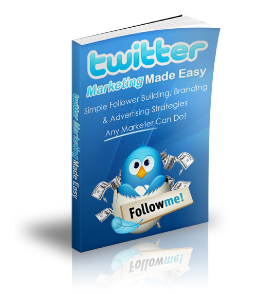 Product picture Twitter Marketing Made Easy
