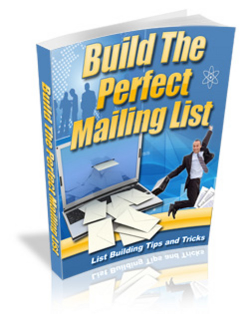 Product picture Build The Perfect Mailing List