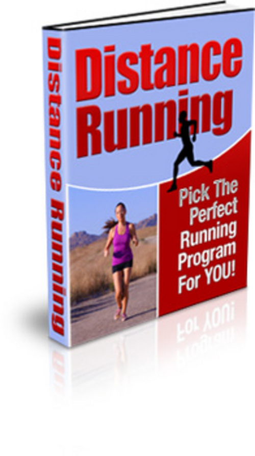 Product picture Distance Running  Pick The Perfect Running Program For YOU